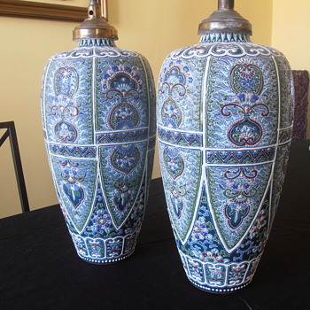 Pair of chinese(?) vases - Asian