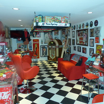 Our Project This Year - 50's Room - Coca-Cola