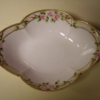 Hand Painted Nippon Dish - China and Dinnerware