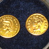 Gold coins California