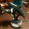 Bronze Dolphin Sculpture