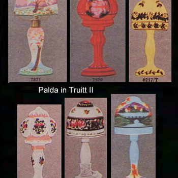 Palda & Ruckl Lamps in Truitt II - Art Glass