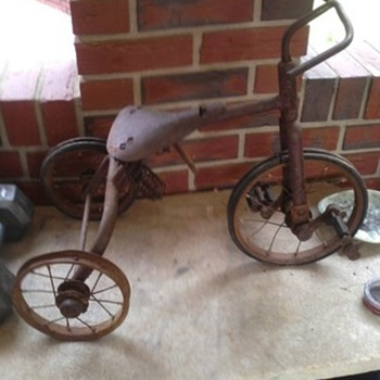 1935 tricycle found in attic