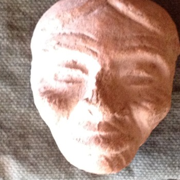 Primitive or old Carving( possibly sand stone) could be Native American? - Visual Art