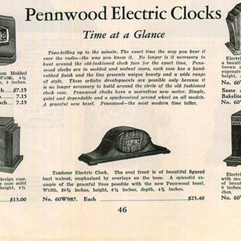 Rethinking Pennwood Dates, 1934 Pennwood Advertisement
