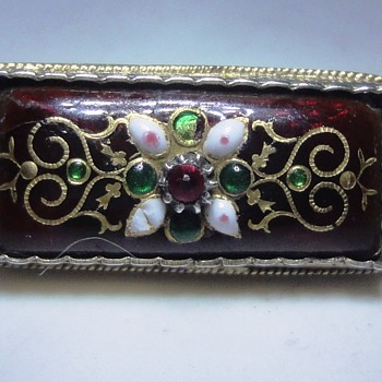 Enameled Silver Bressant brooch to complete my collection