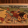 Bicycle comic post cards.