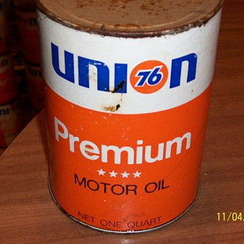 union 76 motor oil - Petroliana