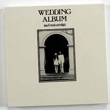"John Lennon personally owned 8 Track -""Wedding Album""-1969 - Music"