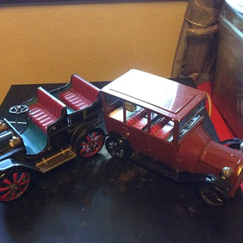 My tin cars