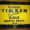 Timken Detroit Axle parts sign