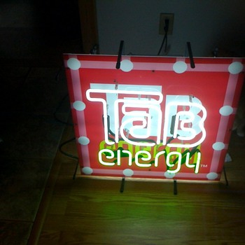Tab Energy neon sign help