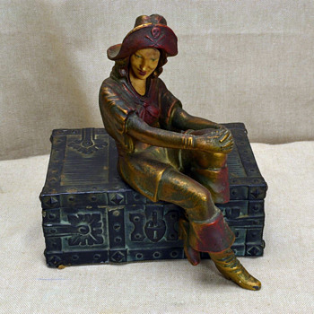 "1925 J. B. Hirsch ""La Pirate"" - Art Deco"