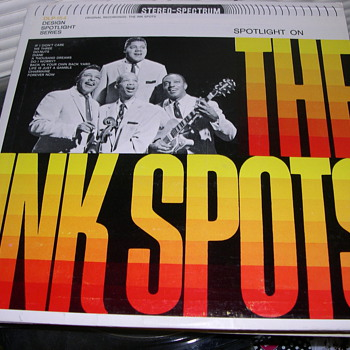 WHO REMEMBERS THE INK SPOTS HERE MY COLLECTION  - Records