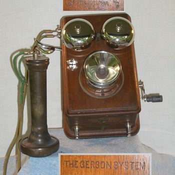 The GERSON telephone - Telephones