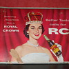 Royal crown cola cardboard