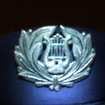 USAF band hat piece
