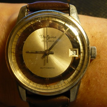1960s 25 J Auto Valgine Wristwatch - Wristwatches