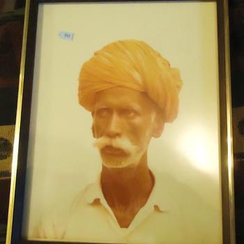 Gospel Thrift Store Photo, print, or? Doorman Jaipur India 1975 $5.00