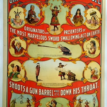 "Original ""Victorina"" Stone Lithograph Poster - Posters and Prints"