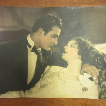 "Gilbert Roland & Norma Talmadge Photograph From 1926 Film, ""Camille"" - Movies"