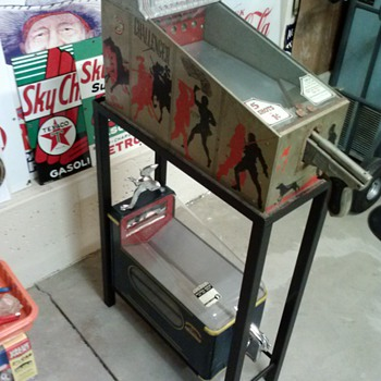 Shooting Gallery Stand - Coin Operated