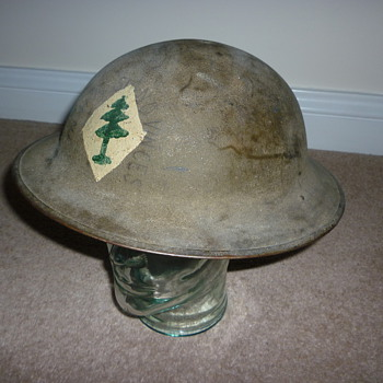 American Expeditionary Force WW1 helmet - Military and Wartime