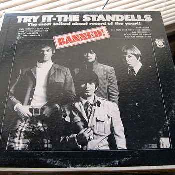 THE STANDELLS THE MOST TALKED ABOUT RECORD OF THE YEAR! BANNED! - Records