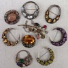 Collection of Bernard Instone large Brooches