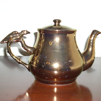 My favorite lustre ware teapot - Kitchen
