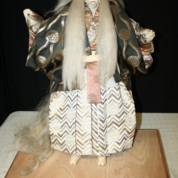 Antique Japanese Kabuki Doll - can you help - Asian