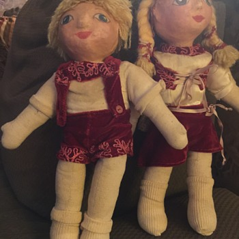 Well loved dolls!