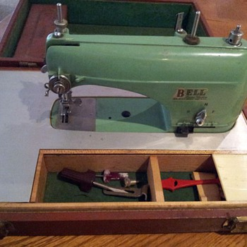 Bell portable sewing machine