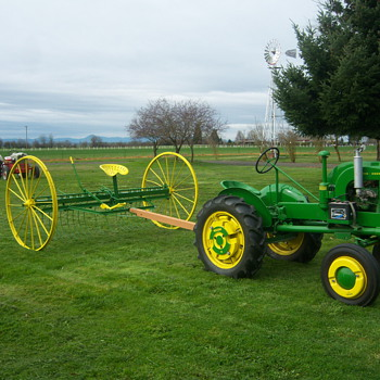 Just in time for Easter - Tractors