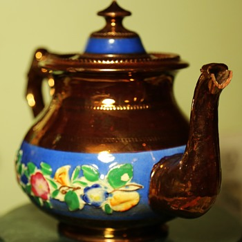 Very Old Luster Tea Pot