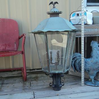 VICTORIAN GAS STREET LAMP - Victorian Era