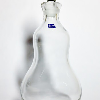 "BJORKSHULT - SWEDEN ""DECANTER"" - Art Glass"