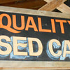 hand painted  shop signs