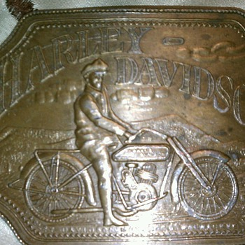 vintage harley-davidson belt buckle - Accessories