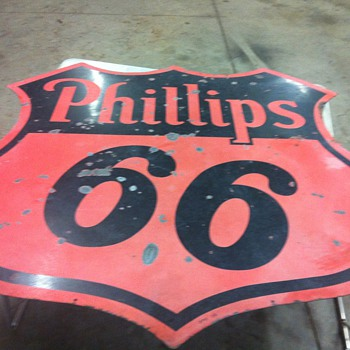 Phillips 66 dated 1956,Coca Cola bottle rack,Dupont antifreeze cardboard from 1920's,Candy machine from 40's