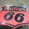 Phillips 66 dated 1956,Coca Cola bottle rack,Dupont antifreeze cardboard from 1920&#039;s,Candy machine from 40&#039;s