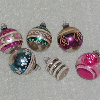 1950's/1960's Christmas Ornaments