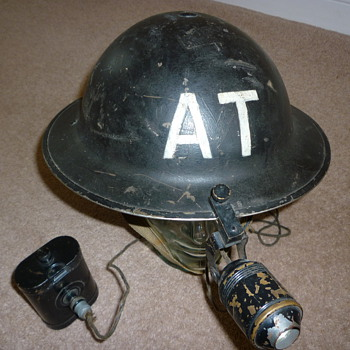 British WW11 Rescue Helmet - Military and Wartime