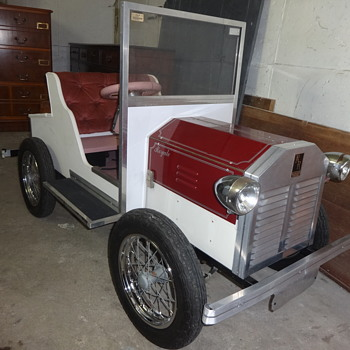 Had this Electric Childs Car in garage for over 30 years
