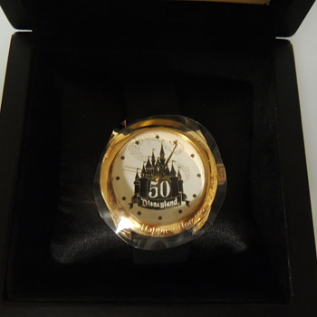 DISNEYLAND 50TH WATCH - Wristwatches