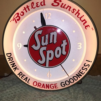 My Soda Advertising Clocks