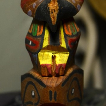 Little Totem Pole Souvenir