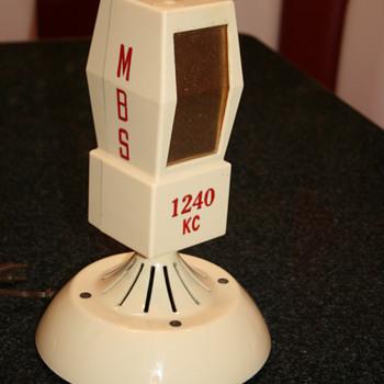 microphone bakelite radio