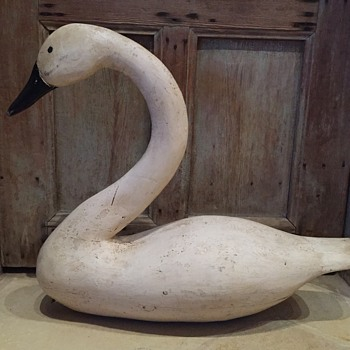 Swan Decoy  - Animals