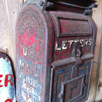 Vintage Mail Box - Office